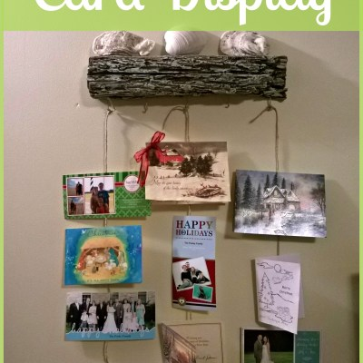 A Cute and Easy Way to Display Greeting Cards