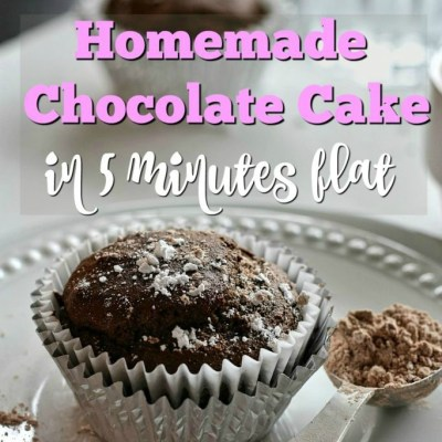 What's in Your Basket? {This Chocolate Cake Recipe is in Mine!}