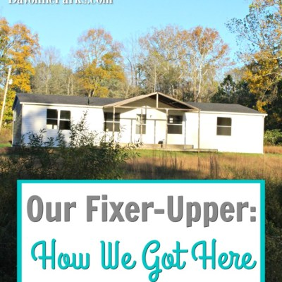 Our Fixer-Upper: How We Got Here
