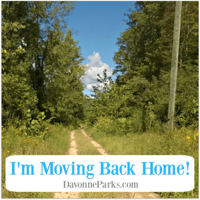 I Moved Back Home! {My Blog Home, That is}