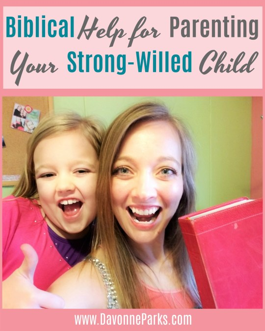 Moms of strong-willed kids, you HAVE to read this!! Great, practical tips and Bible verses that will actually help you parent your strong-willed child. SO good!!!