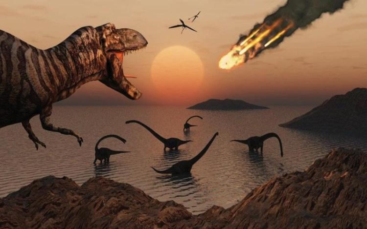 dinosaur meteorite