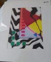 Zebra stripe abstract by Marvin Murphy