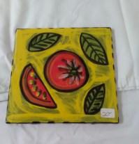 Tomato tile by Toni & Jay Mann