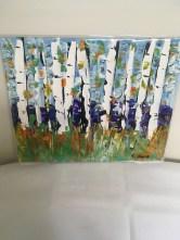 Acrylic painting on art board by Steven Ward