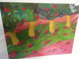 Apple tree print by Kim Rhoney