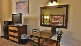 Desert style room - includes two queen sized beds for four people