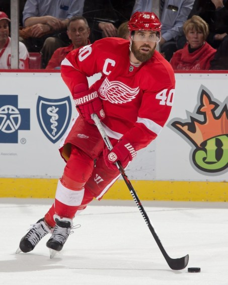 Autographed Photo of Henrik Zetterberg of the Detroit Red Wings