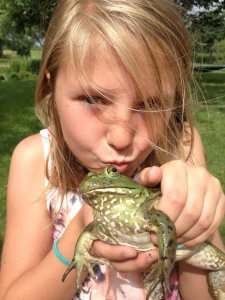 If you want to get ahead in life, you're supposed to eat the frog, not kiss it.