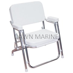 Boat Chairs Folding Deck Wedding Chair Covers For Sale Australia Seats Dawn Marine With Cushion