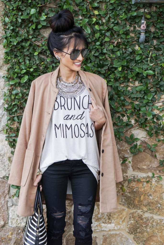 brunch and mimosas outfit