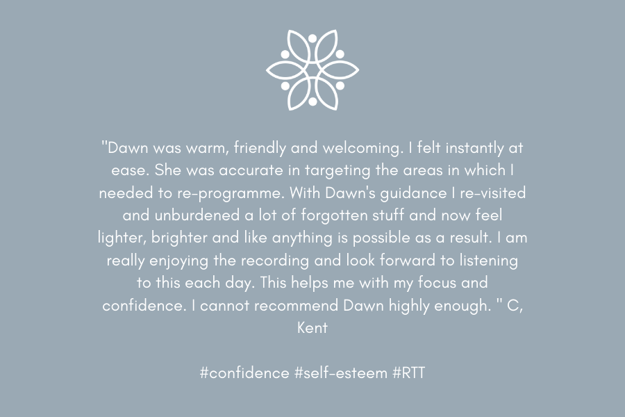 Ultimate You - Client Testimonial - Confidence |www.dawnquest.co.uk