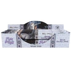 2 Packs Of Moonlight Unicorn Incense by Anne Stokes