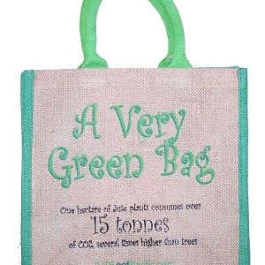 Eco Friendly Jute Tantra Bag ` A Very Green Bag ` Shopping Tote
