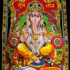 SEQUIN GANESH WALL HANGING