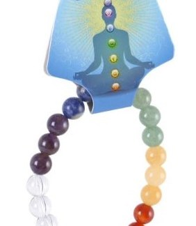 Chakra Balancing Crystal Power Ball Bracelet