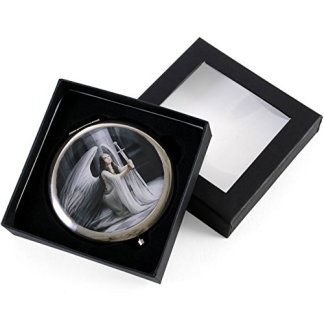 THE BLESSING - GOTHIC ANGEL COMPACT MIRROR BY ANNE STOKES