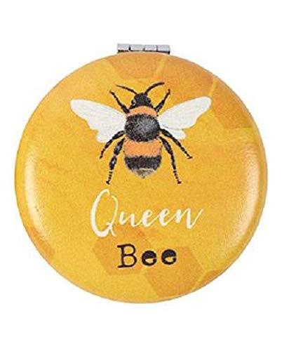 Compact Mirror BEE - Fun Cute Design Makeup Mirror - Girls Ladies - Gift Present