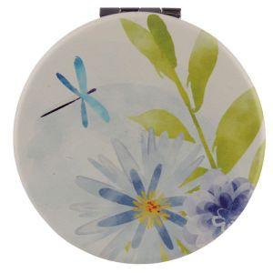 New Dragonfly Collectable Botanical Design Compact Mirror