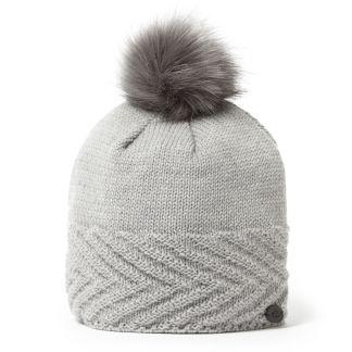 Maria Knit Hat - Soft Grey Marl