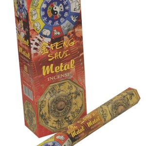 1 Pack Of Feng Shui Metal Incense Sticks By Parimal