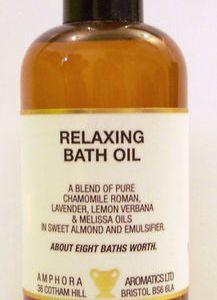 Amphora Relaxing Bath Oil 100ml