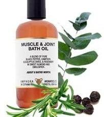AMPHORA MUSCLE & JOINT BATH OIL