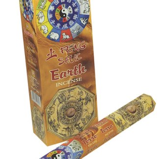 1 Pack Of Feng Shui Earth Incense Sticks By Parimal