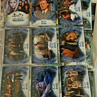 Buffy the Vampire Slayer Complete Base Set | Men of Sunnydale | Trading Cards