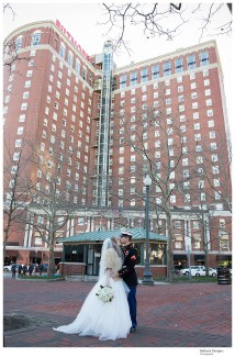 Hannah And Drew Married Providence Biltmore Wedding