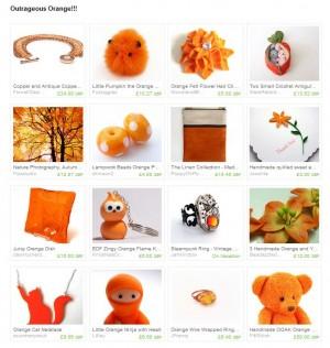 Outrageous Orange!