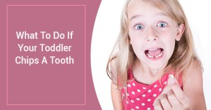 What To Do If Your Toddler Chips A Tooth