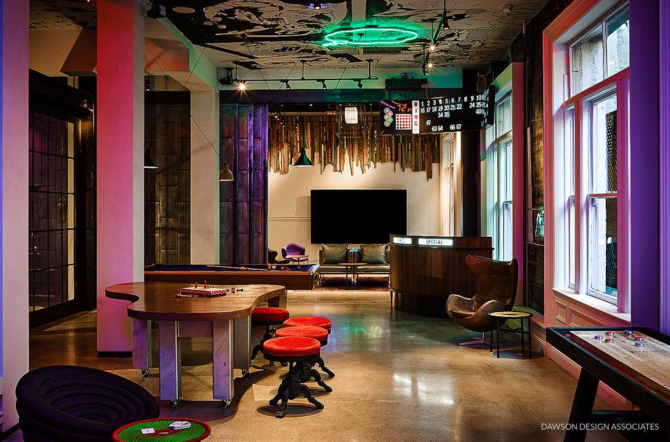 Hotel Zeppelin  Dawson Design Associates Hospitality