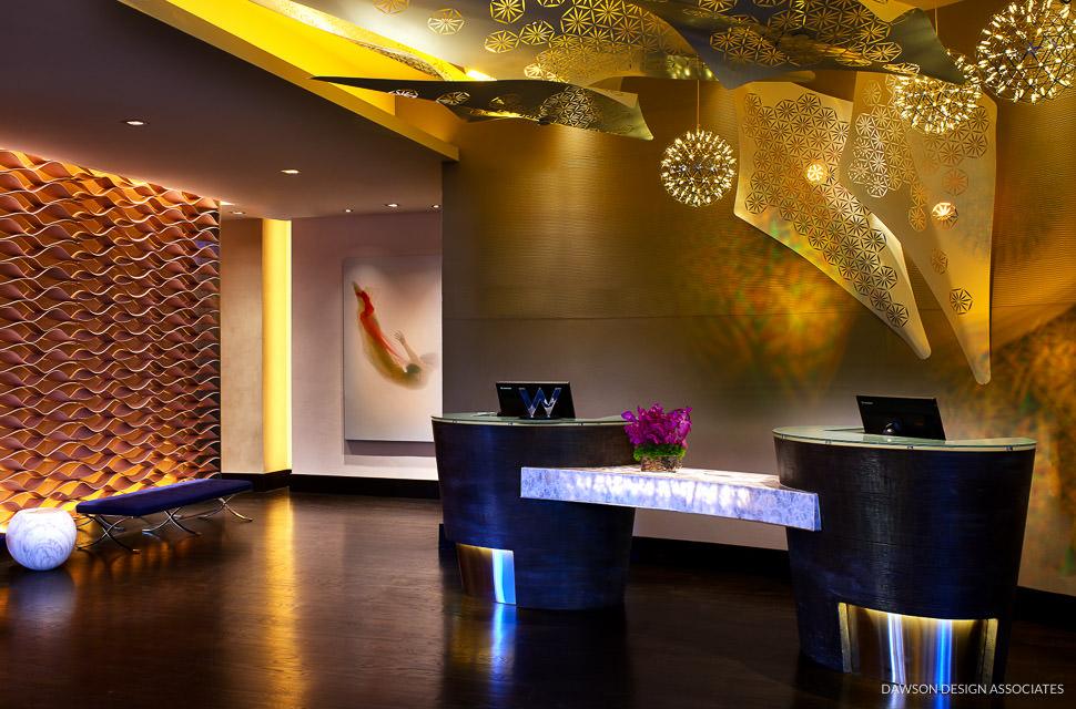 W Hotel Los Angeles West Beverly Hills Dawson Design Associates