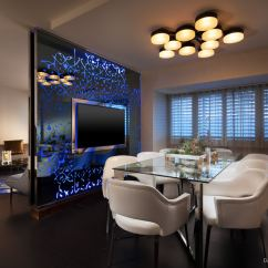 Living Room Bar Tv Storage Units Furniture W Hotel Los Angeles - West Beverly Hills Dawson Design ...