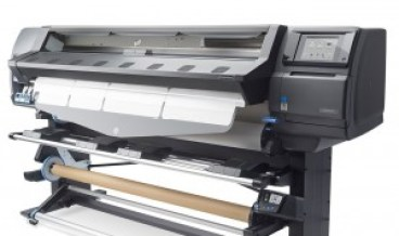 HP Latex 360 Printer Loading