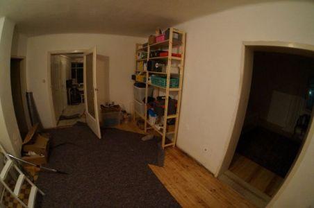 Küche und Werkzeuglager