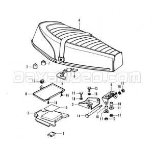 Honda Chaly Seat