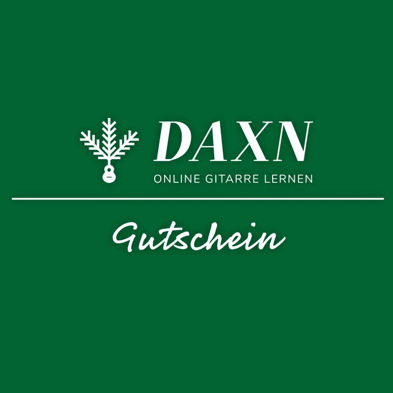 DAXN-Gitarrenkurs-Gutschein