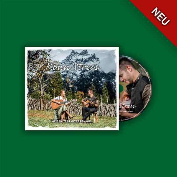Neue CD der Meißnitzer GItarrenmusi