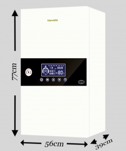 Daxom 12 kW Wall Hung Electric Combi Boiler With 50 Litre Inbuilt Cylinder Single Phase