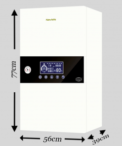 WALL MOUNTED ELECTRIC COMBI BOILER WITH 50 LITRE INBUILT CYLINDER THREE PHASE 18 kW / 24 kW 001