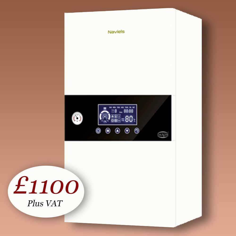 2 compact electric combi boiler