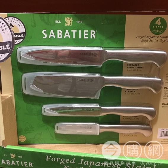 SABATIER 不鏽鋼鍛造刀具組 #964095 Costco好市多 家庭用品區