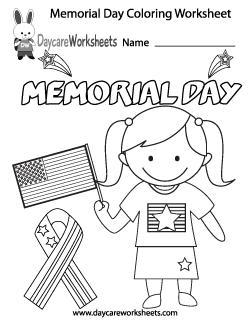 Preschool Holiday Worksheets