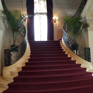 Newport Rhode Island Rosecliff Stairs