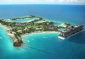 PHOTO: Ocean Cay MSC Marine Reserve rendering. (Photo courtesy of MSC Cruises)