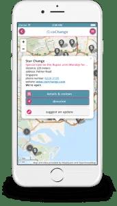 coChange - a travel tool