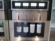 Wine Dispenser in Garden Buffet Norwegian Breakaway Review