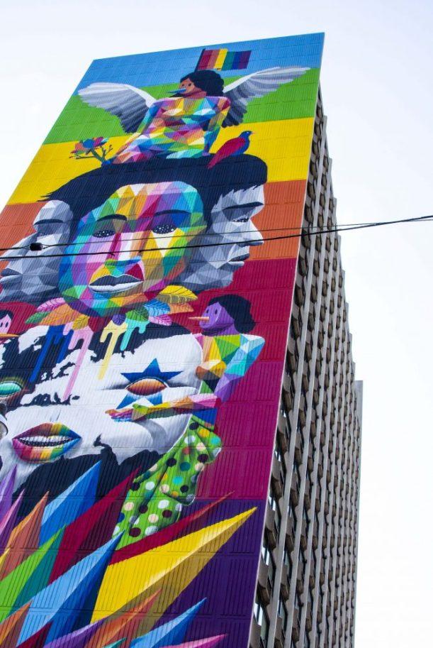 Jarvis & Carlton - a new 30 storey mural. Incredible